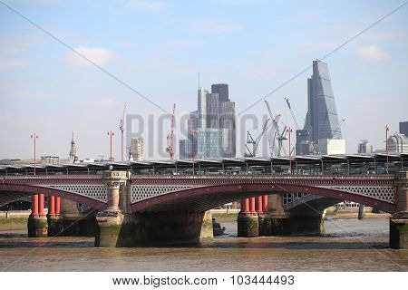 One Of The Bridges In Central London