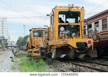 Restoration The Railroad Tracks