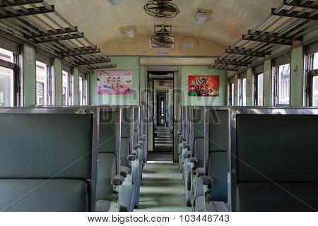 Cabin Of Thai Train