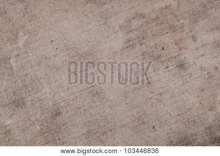 Old Burlap Texture As A Background For Your Use
