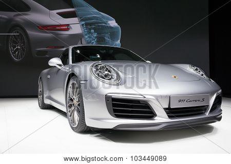 New 2016 Porsche 911 Carrera S