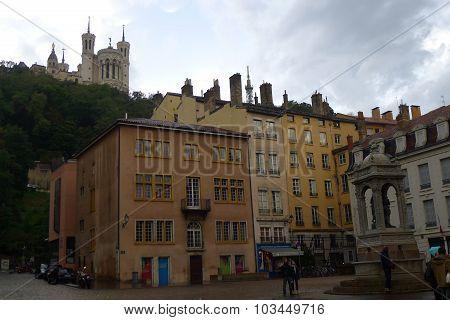 At Place Saint Jean in Vieux Lyon