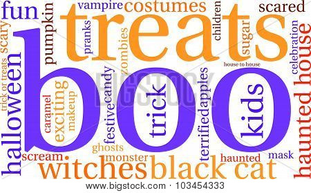 Boo Word Cloud