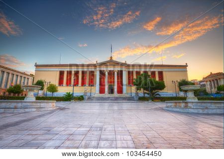 National & Kapodistrian University of Athens.