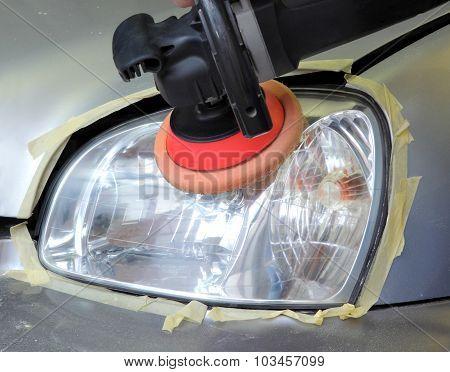 Car Light Repairing,  Tool Polish Headlight