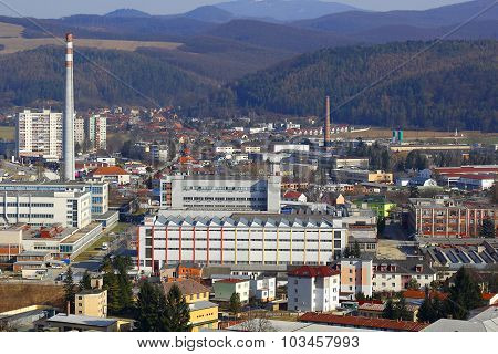 Industrial Part of Town Trencin