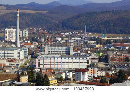 Industrial Part of Town Trencin