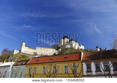 Trencin city castle