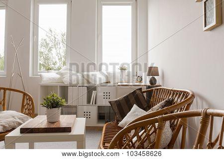 Neat Furnished Light Interior