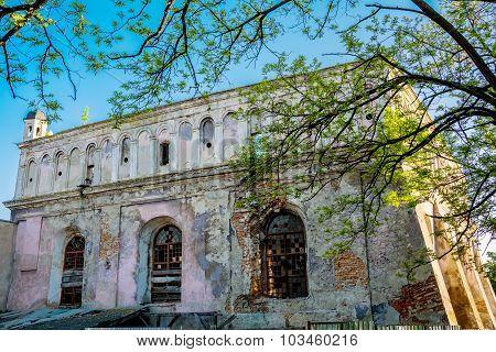 Synagogue In Zhovkva Lviv Region