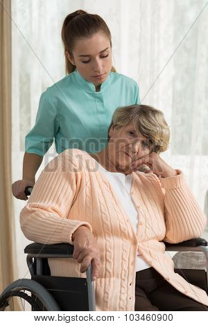Disabled Retiree In Residential Home