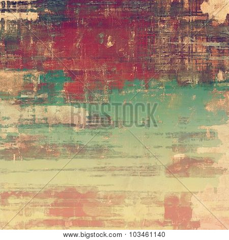 Antique vintage texture, old-fashioned weathered background. With different color patterns: yellow (beige); brown; purple (violet); green