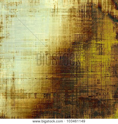 Old texture - perfect background with space for your text or image. With different color patterns: yellow (beige); brown; gray; black
