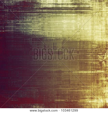 Designed grunge texture or background. With different color patterns: yellow (beige); brown; purple (violet); gray