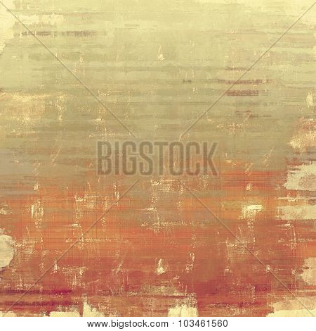 Vintage texture with space for text or image. With different color patterns: yellow (beige); brown; gray; red (orange)
