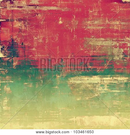 Abstract retro background or old-fashioned texture. With different color patterns: yellow (beige); brown; pink; green