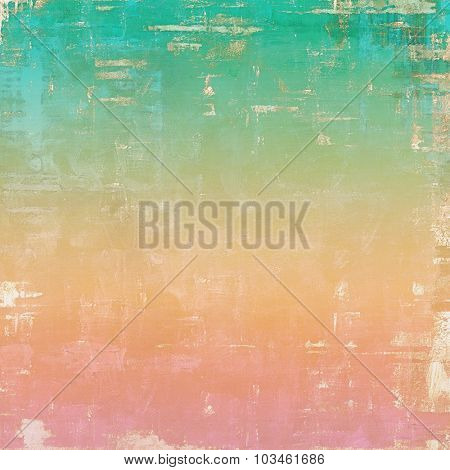 Ancient grunge background texture. With different color patterns: yellow (beige); pink; blue; green