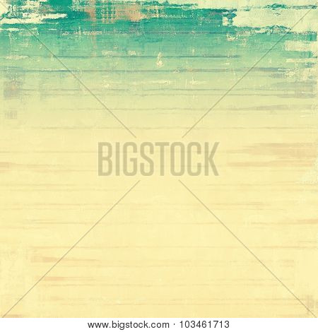 Grunge aging texture, art background. With different color patterns: yellow (beige); brown; gray; green