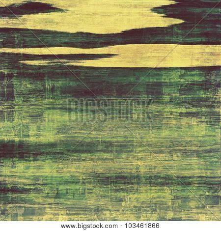 Old ancient texture, may be used as abstract grunge background. With different color patterns: yellow (beige); blue; gray; green