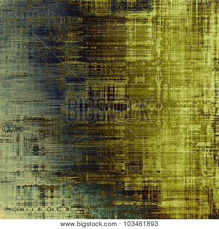 Antique vintage background. With different color patterns: yellow (beige); brown; blue; gray