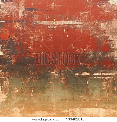 Old ancient texture, may be used as abstract grunge background. With different color patterns: yellow (beige); brown; gray; red (orange)