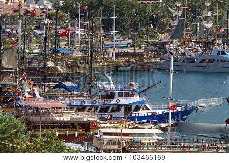 Alanya Harbor