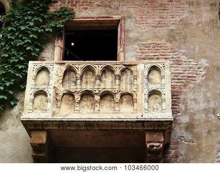 Balcony Of Romeo And Juliet, Verona