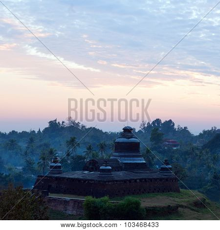Temple In Mrauk U Archaeological Zone, Myanmar