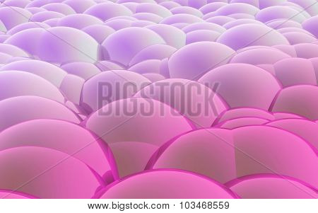 3D Spheres Crossover Color