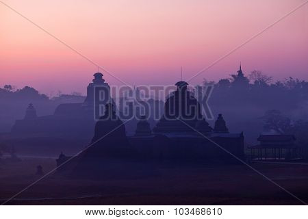 Mrauk U Archaeological Zone, Myanmar