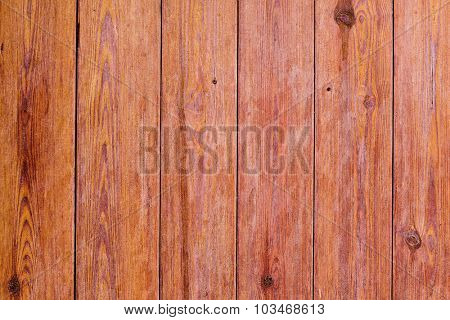 closeup of a surface built of parallel wooden slats, to use as a background