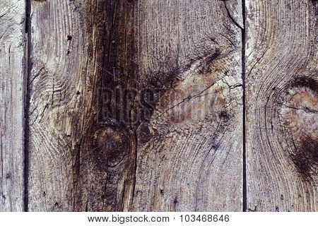 closeup of some old rustic wooden slats to use as a background