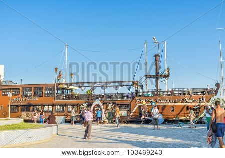 The Wooden Ship