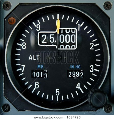 Aricraft Altimeter