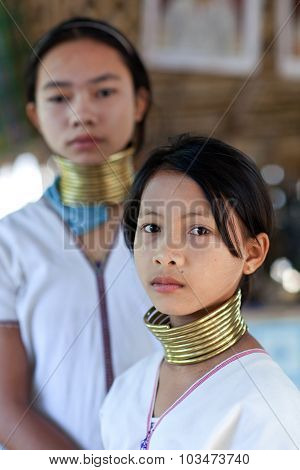 Padaung Tribe People, Myanmar
