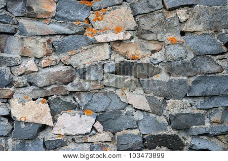 Rough Stones Wall Background