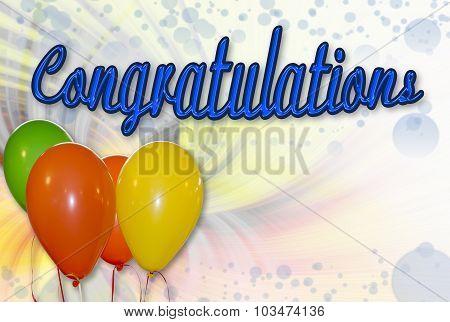 Congratulations Background