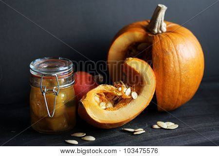 pumpkin and pumpkin preserves