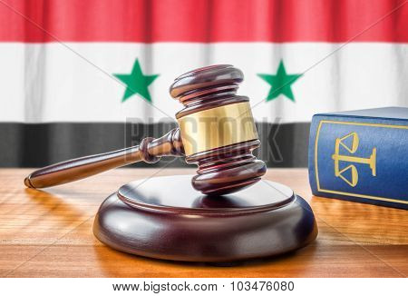 A Gavel And A Law Book - Syria