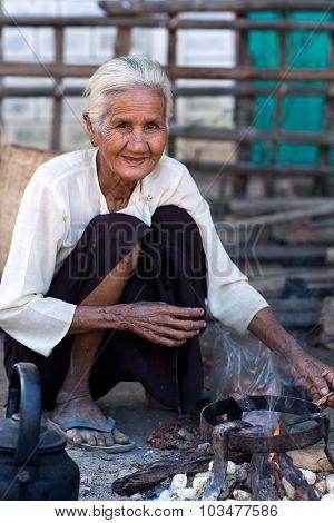 Burmese Woman, Myanmar