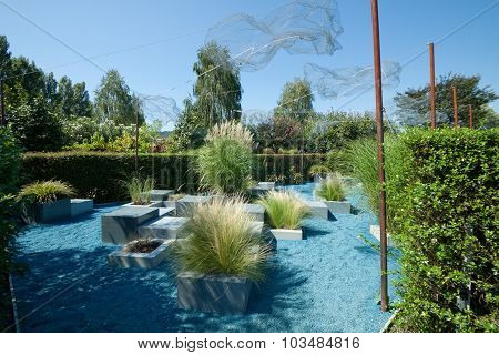 The Water Cycle Garden