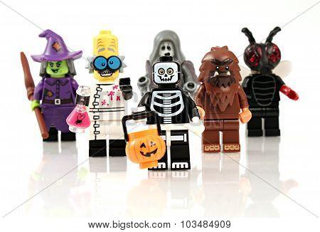 Halloween Minifigures