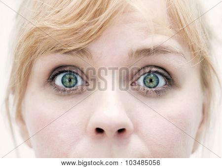Cloesup Of Woman's Eyes