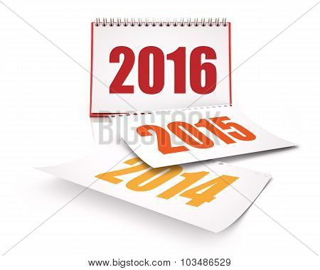 Calendars 2016 And 2015 And 2014