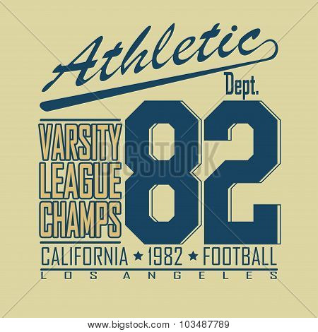 Football t-shirt fashion design graphics - vectors