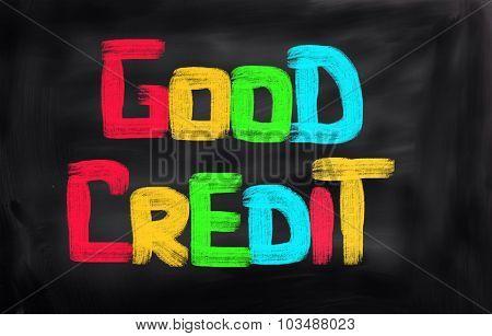 Good Credit Concept