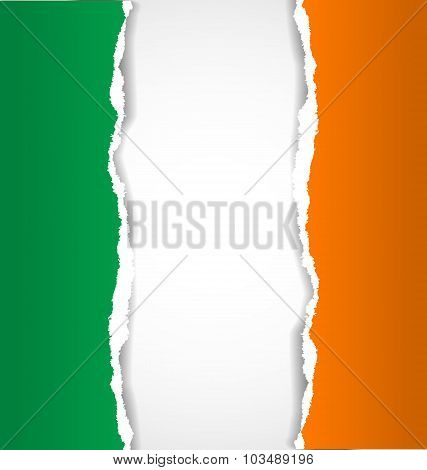 Irish Flag Background