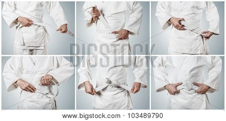 Step By Step Tying Kimono Belt