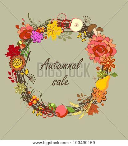 Autumnal sale