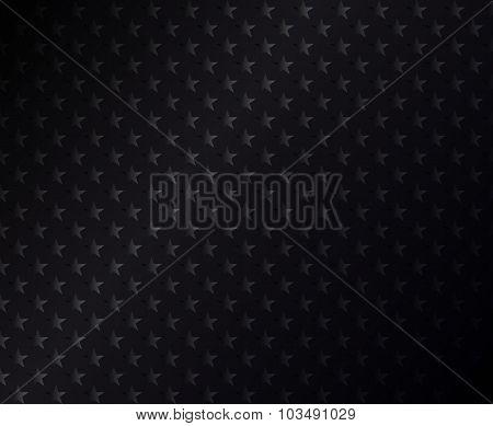 Black stars background